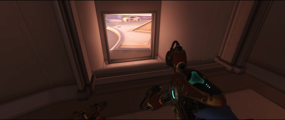 Symmetra Shield Generator spot Oasis City Center road area.png