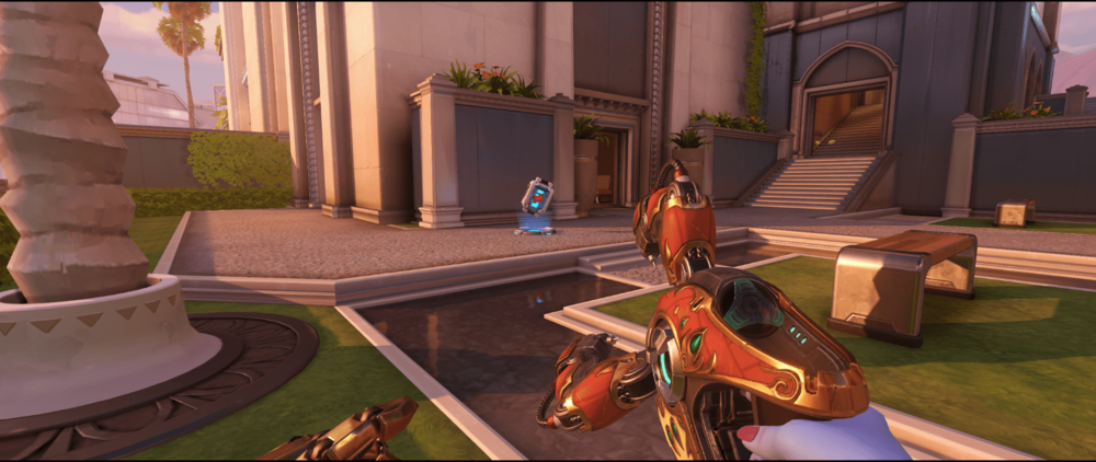 Symmetra Shield Generator spot Oasis City Gardens possible area 2.png