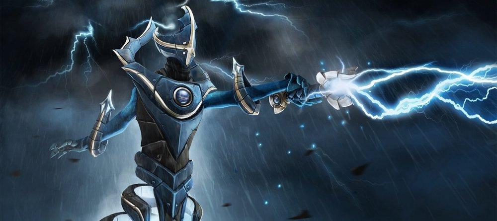 Empire of the Lightning loading screen for Razor - Valve