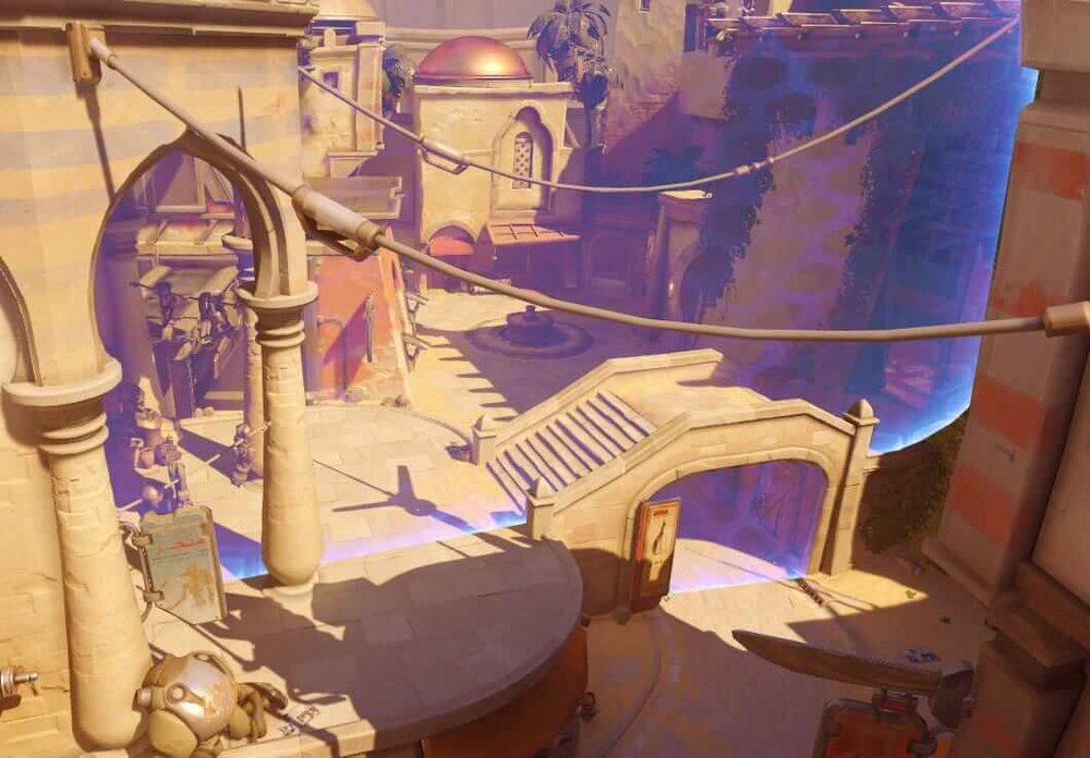 Symmetra Photon Barrier ultimate Temple of Anubis.jpg