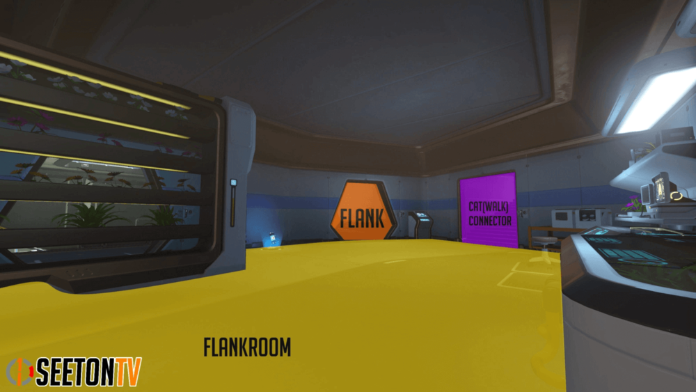 Horizon Lunar Colony map callouts four Overwatch