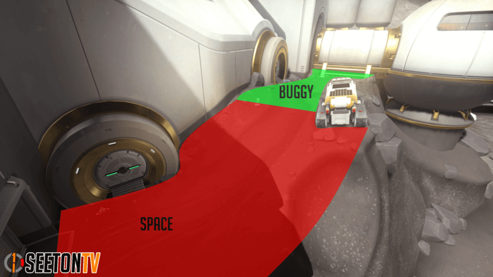 Horizon Lunar Colony map callouts five Overwatch