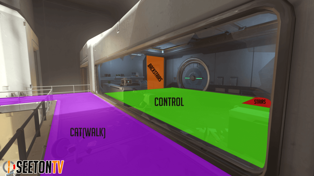 Horizon Lunar Colony map callouts Six Overwatch