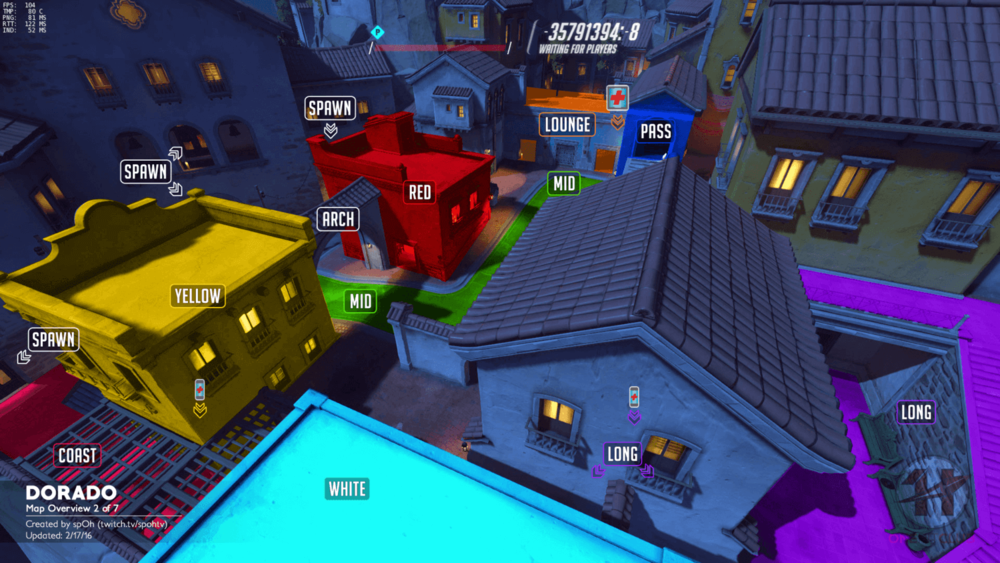 Dorado map callouts two Overwatch