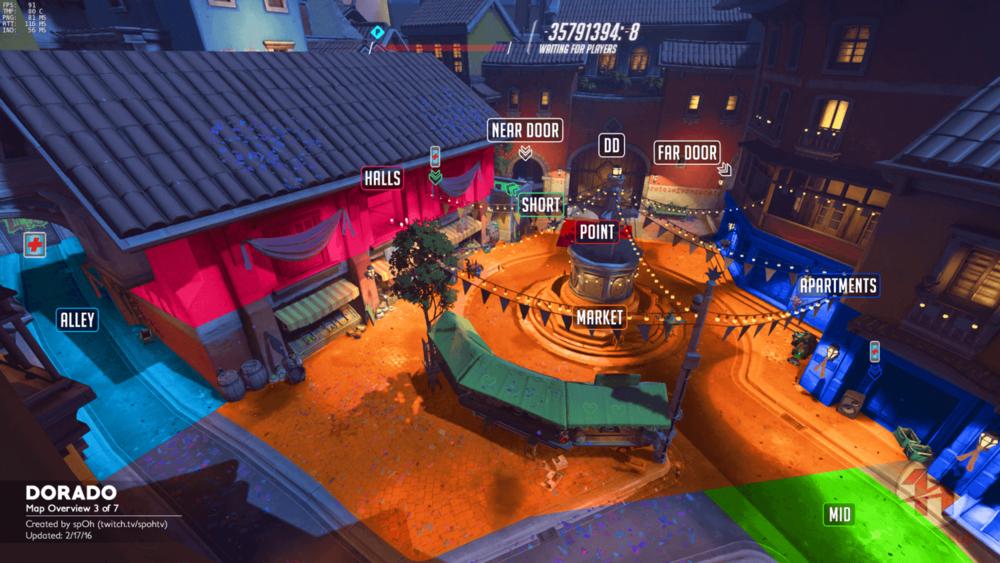 Dorado map callouts three Overwatch