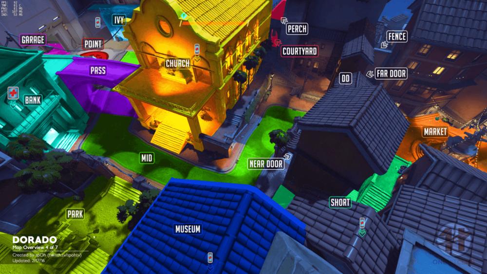 Dorado map callouts four Overwatch