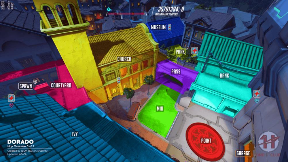 Dorado map callouts five Overwatch