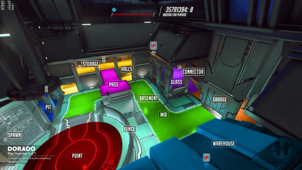Dorado map callouts six Overwatch