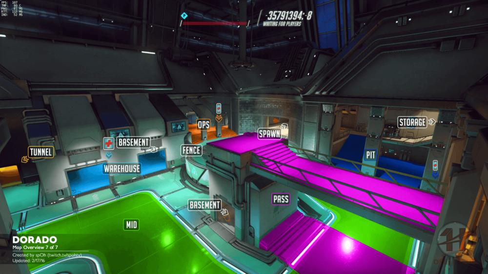 Dorado map callouts seven Overwatch