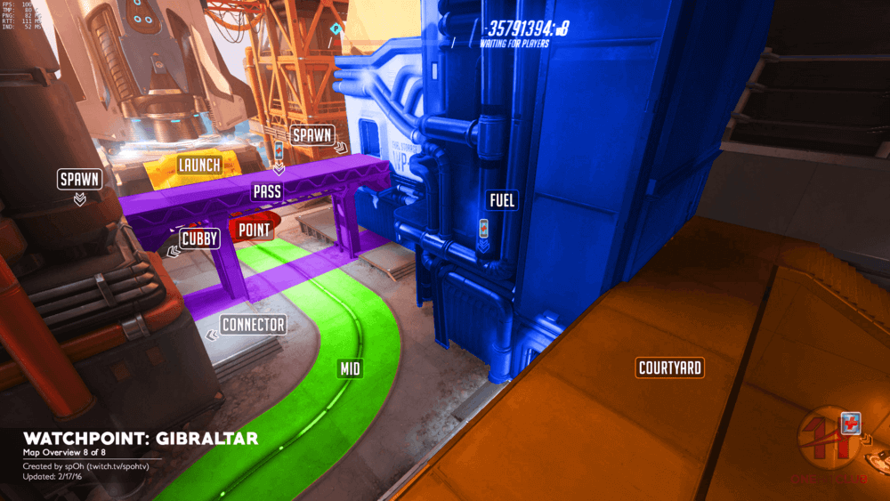 Watchpoint Gibraltar map callouts eight Overwatch