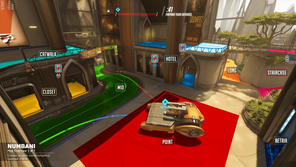Numbani map callouts three Overwatch