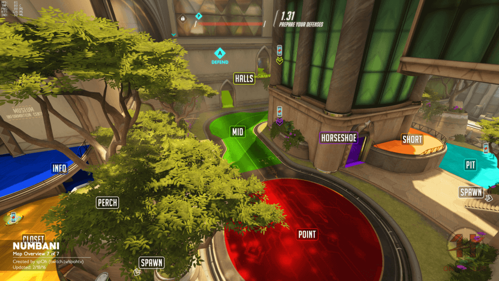 Numbani map callouts seven Overwatch
