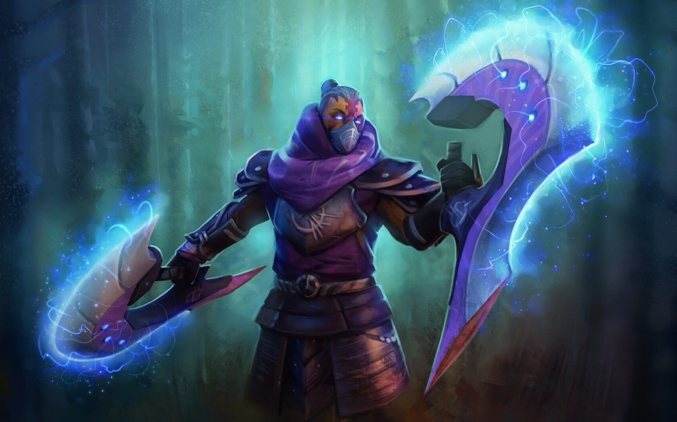 The Witch Hunter loading screen for Anti-Mage - Valve