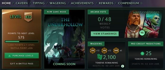"The Underhollow is ""coming soon"""