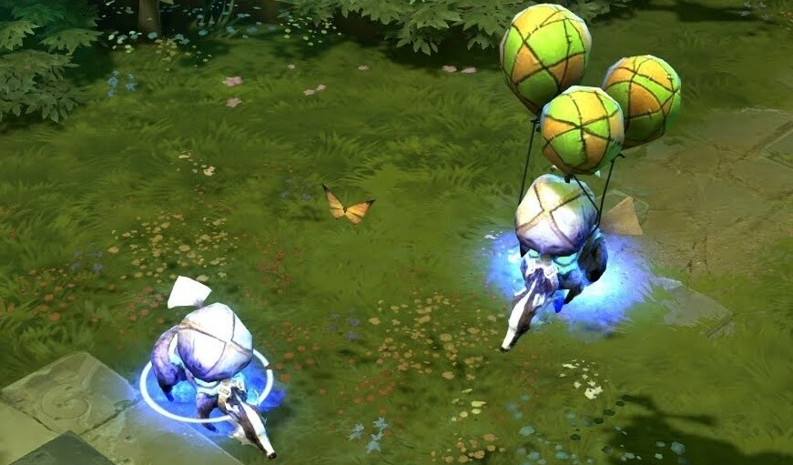 Legacy Fearless Badger Dota 2 courier