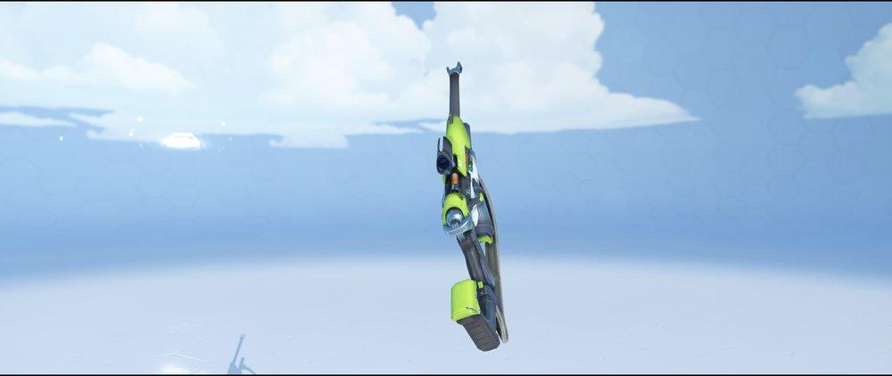 Peridot gun back rare skin Ana Overwatch.jpg