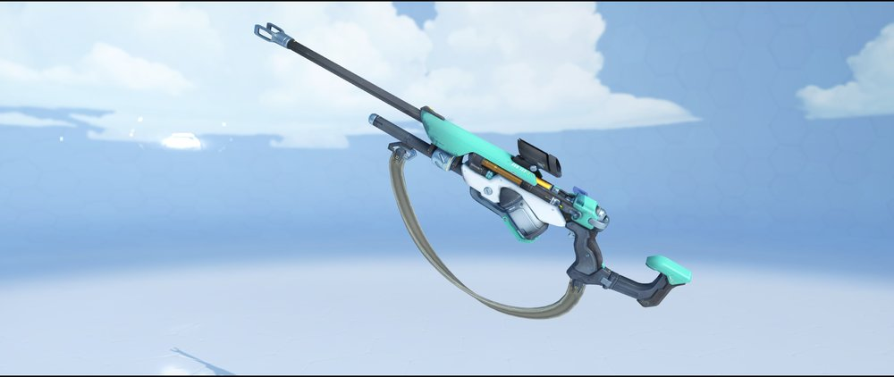 Turquoise gun front rare skin skin Ana Overwatch.jpg