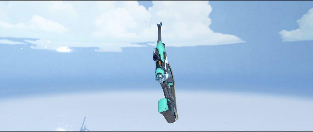 Turquoise gun back rare skin Ana Overwatch.jpg