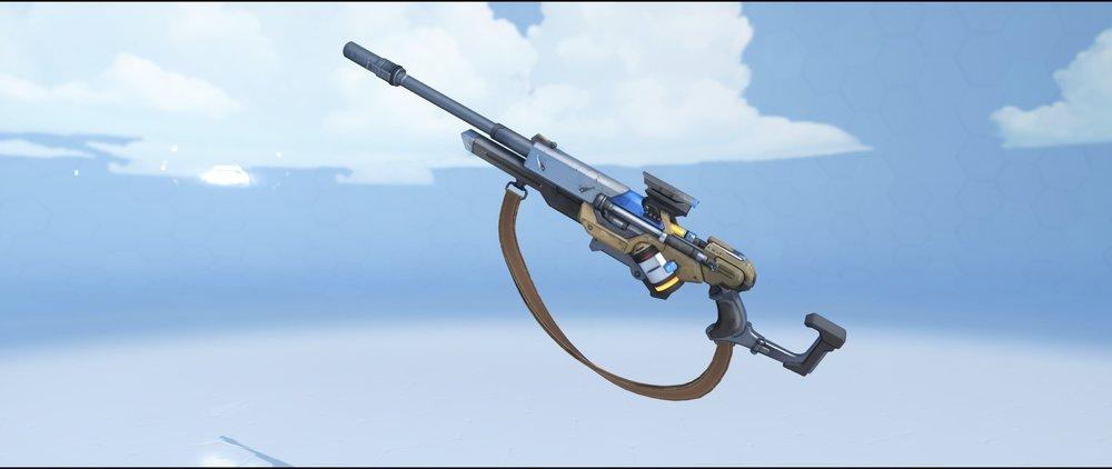 Captain Amari gun front legendary skin Ana Overwatch.jpg