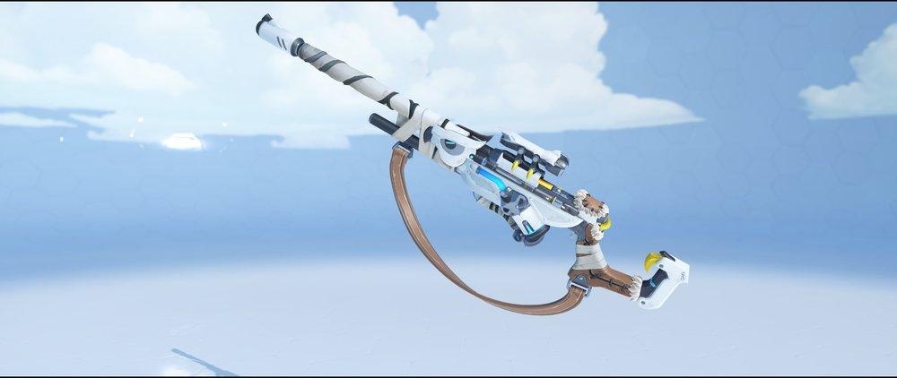 Snow Owl gun front legendary skin Ana Overwatch.jpg