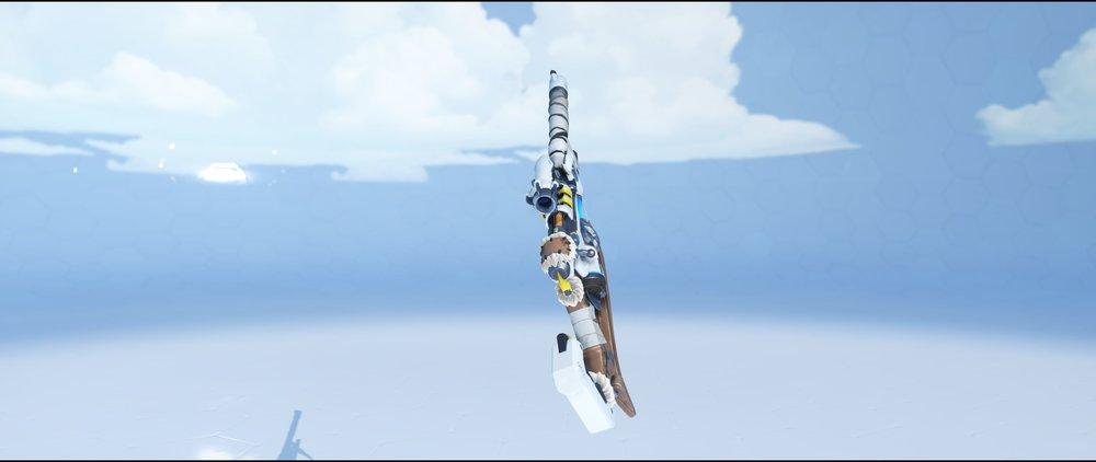 Snow Owl gun back legendary skin Ana Overwatch.jpg