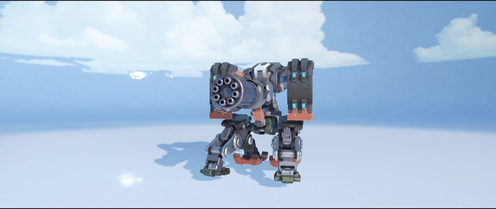 Soot sentry rare front skin Bastion Overwatch.jpg