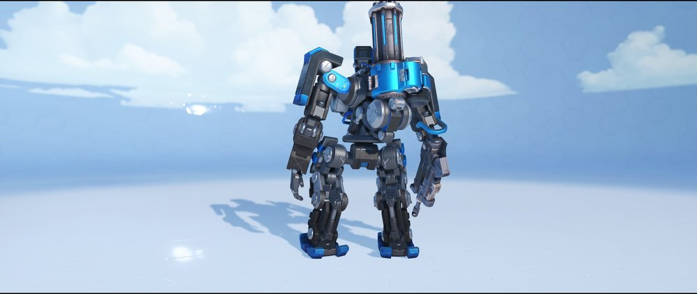 Blizzcon 2016 back epic skin Bastion Overwatch.jpg