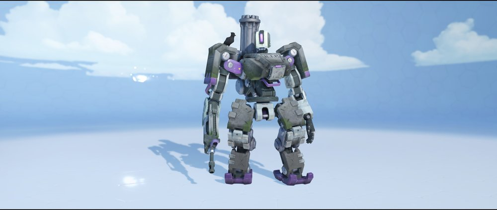 Tombstone front epic Halloween skin Bastion Overwatch.jpg