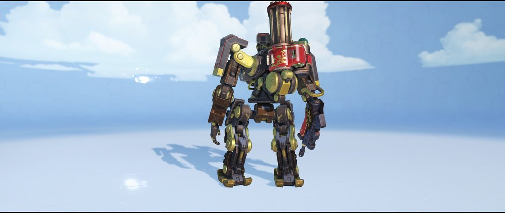 Rooster back epic Lunar New Year skin Bastion Overwatch.jpg