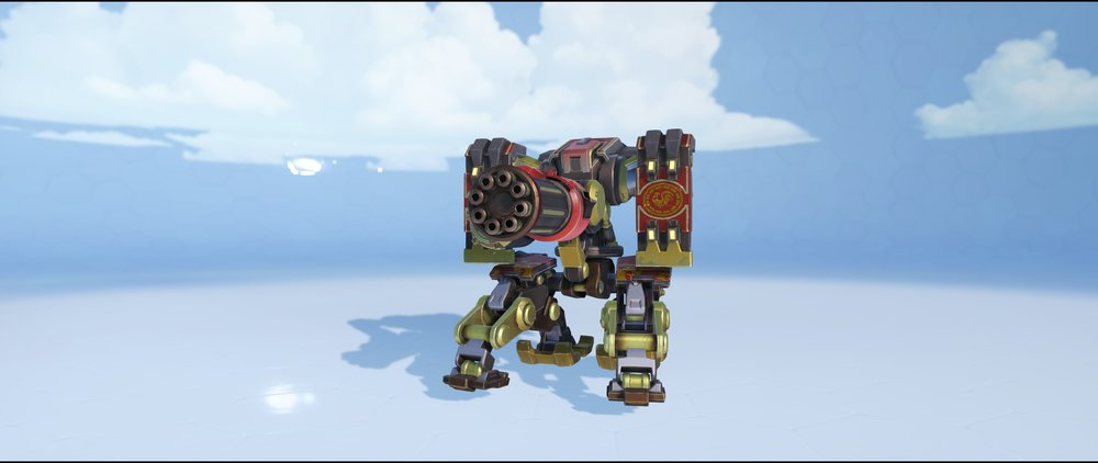 Rooster sentry front epic Lunar New Year skin Bastion Overwatch.jpg
