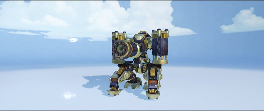 Steambot sentry front legendary skin Bastion Overwatch.jpg