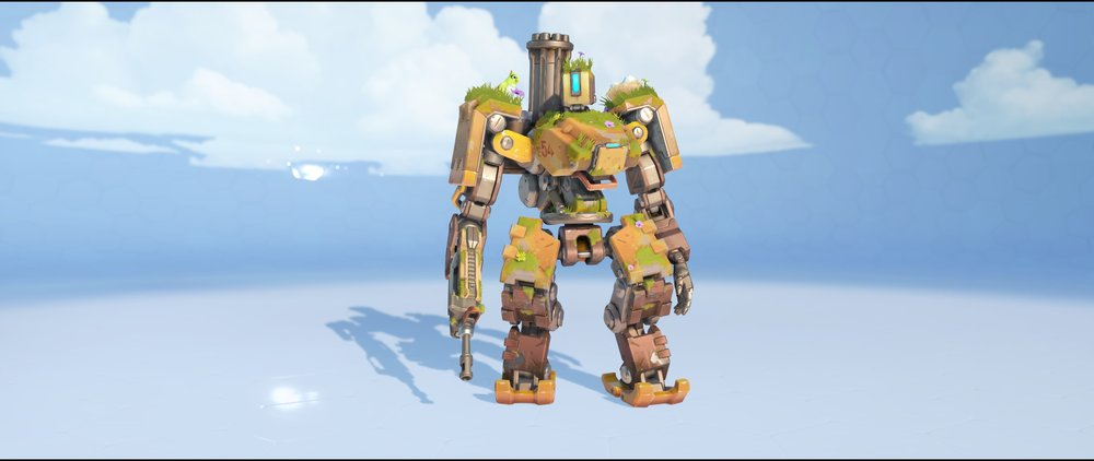 Overgrown front legendary skin Bastion Overwatch.jpg