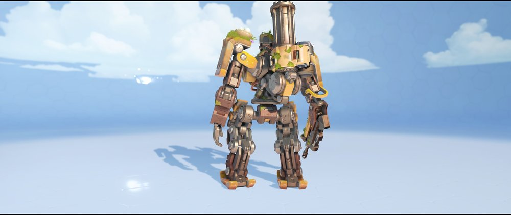 Overgrown back legendary skin Bastion Overwatch.jpg