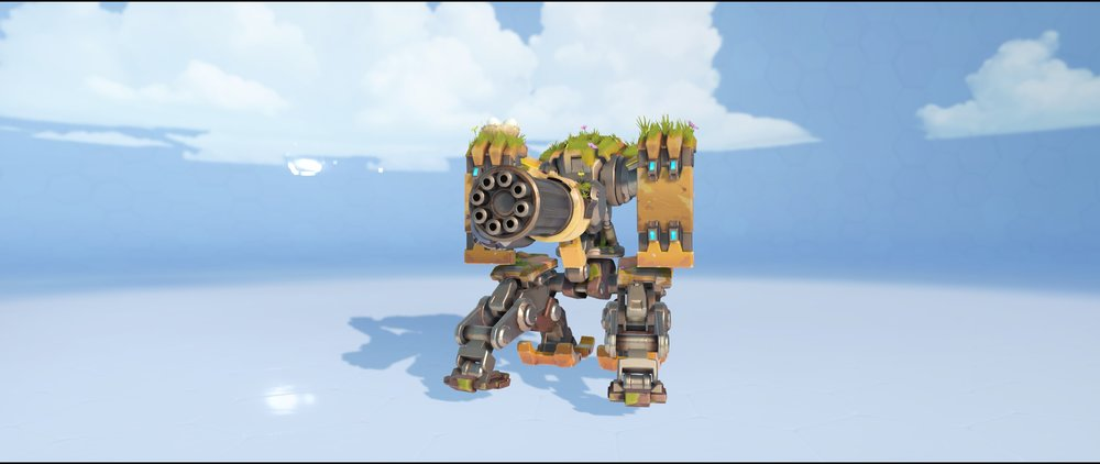 Overgrown sentry front legendary skin Bastion Overwatch.jpg