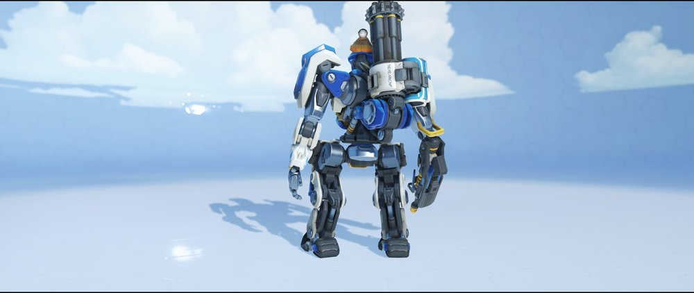 Avalanche back legendary Winter Wonderland skin Bastion Overwatch.jpg