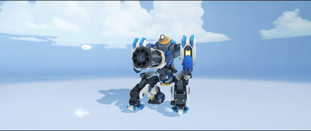 Avalance sentry front legendary Winter Wonderland skin Bastion Overwatch.jpg