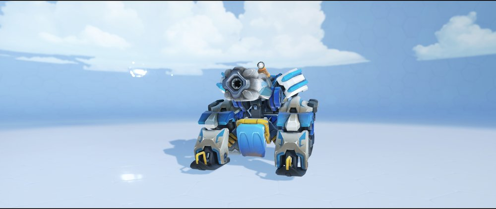 Avalanche tank front legendary Winter Wonderland skin Bastion Overwatch.jpg