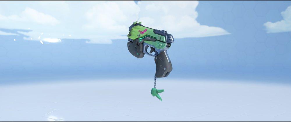 Lemon-Lime pistol rare skin DVa Overwatch.jpg