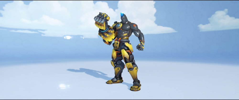 Caution front legendary skin Doomfist Overwatch.jpg