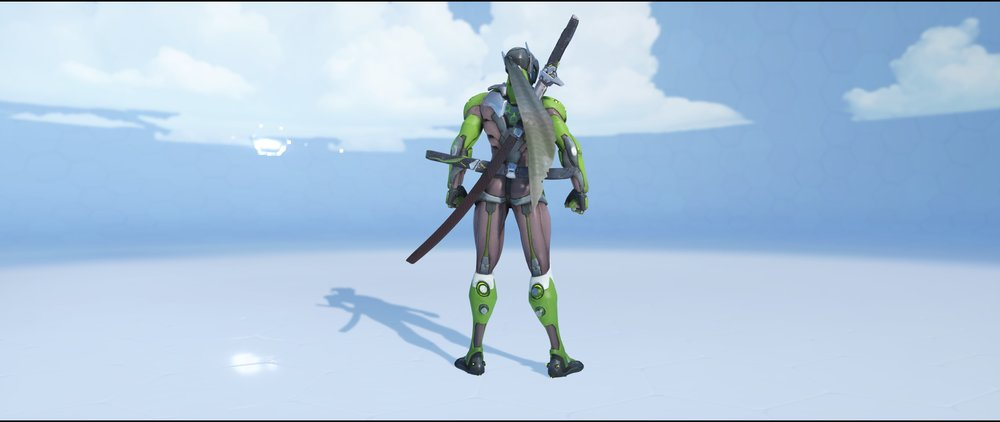Malachite back rare skin Genji Overwatch.jpg