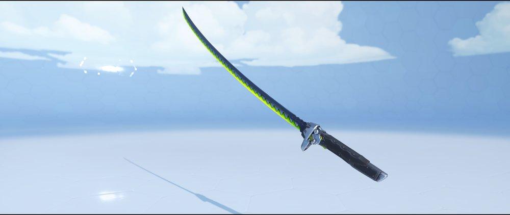 Malachite katana rare skin Genji Overwatch.jpg