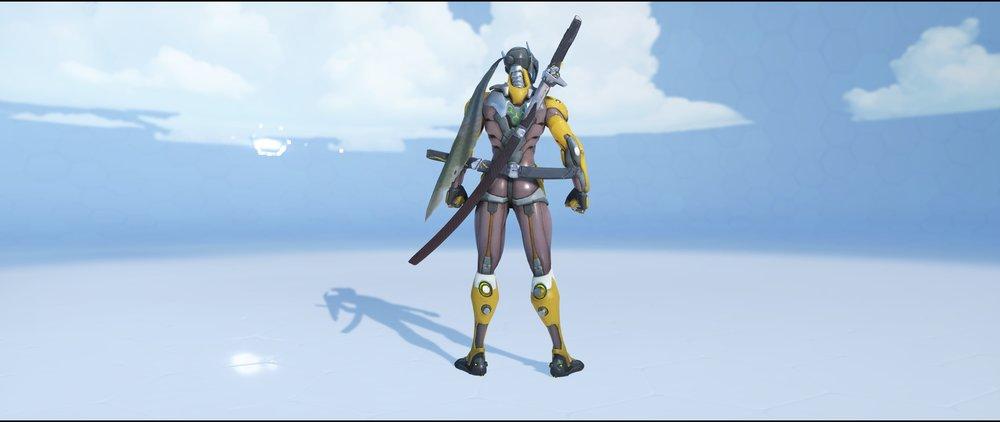 Ochre back rare skin Genji Overwatch.jpg