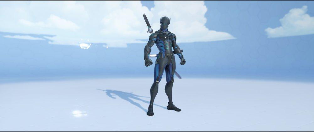 Carbon Fiber front epic skin Genji Overwatch.jpg