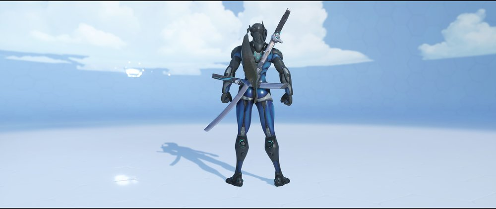 Carbon Fiber back epic skin Genji Overwatch.jpg