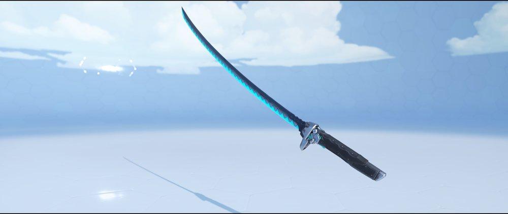 Carbon Fiber katana epic skin Genji Overwatch.jpg