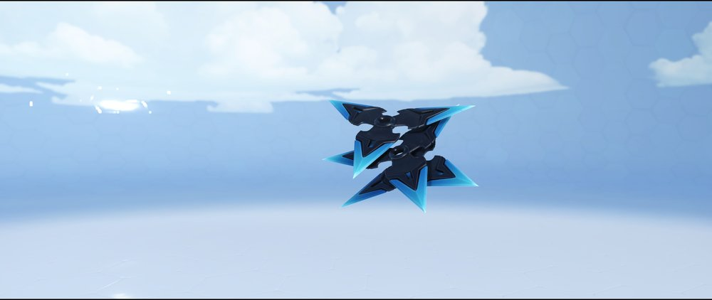 Carbon Fiber shurikens epic skin Genji Overwatch.jpg