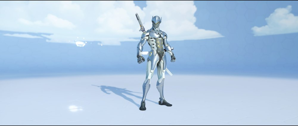 Chrome front epic skin Genji Overwatch.jpg