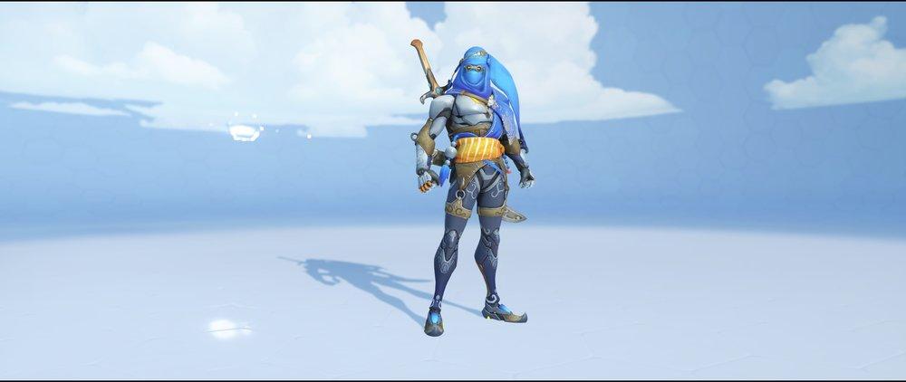 Bedouin front legendary skin Genji Overwatch.jpg