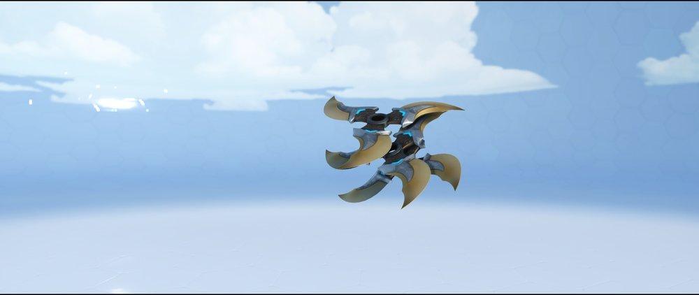 Nomad shurikens legendary skin Genji Overwatch.jpg