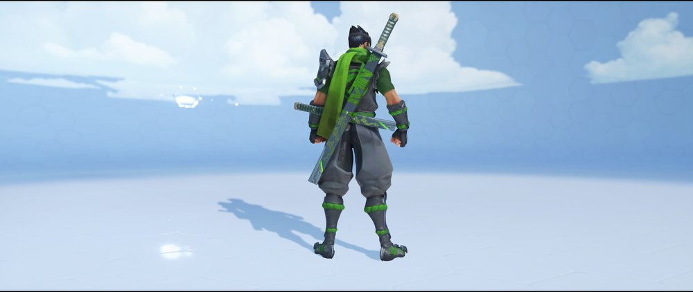 Sparrow back legendary skin Genji Overwatch.jpg